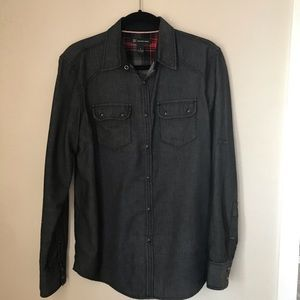 INC men's casual dress button up shirt size Small